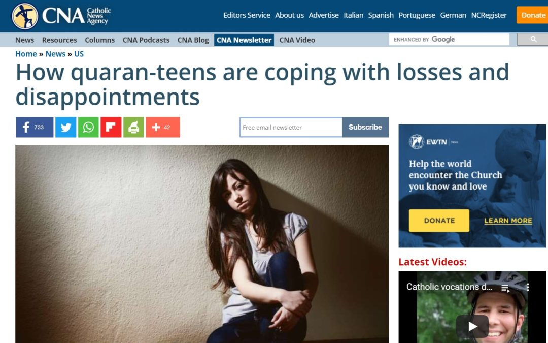 How quaran-teens are coping with losses and disappointments