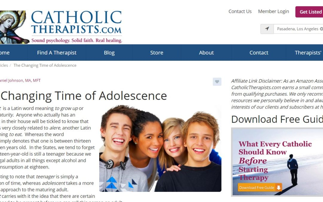 The Changing Time of Adolescence