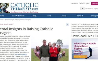 Parental Insights in Raising Catholic Teenagers